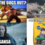 De como El Norte es de los Stark y de Purina DogChow